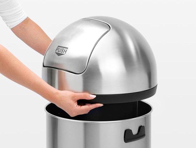Tafel Prullenbak Rvs : Franke stratos afvalbak opbouw liter easy to clean rvs